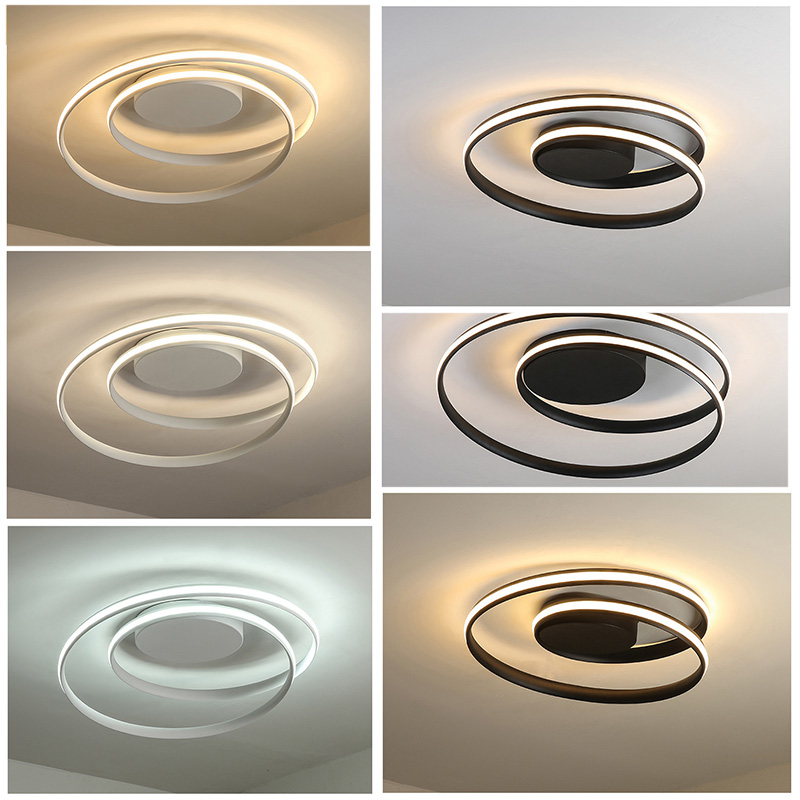 Modern Art 40W LED Ceiling Light Chandelier Lighting Pendant Lamp Fixture with Remote