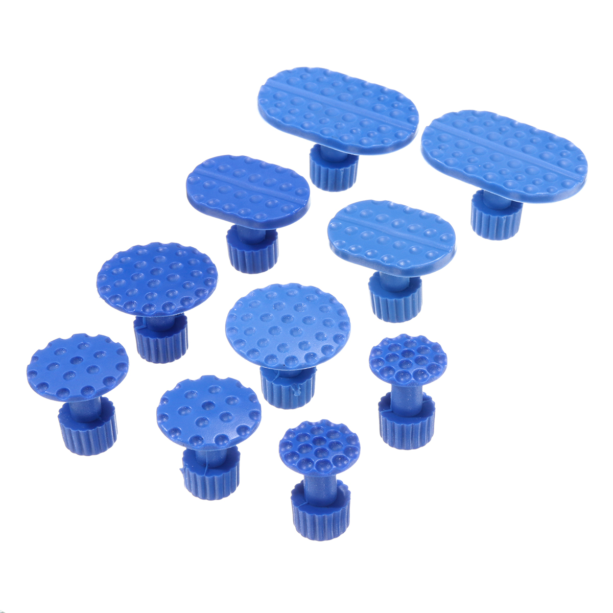 30Pcs Glue Tabs Dent Lifter Tools Puller Removal Slide Hammer Tool For Auto Paintless Dent Repair Glue Tabs