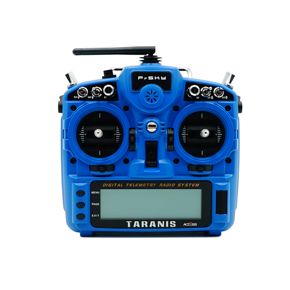 FrSky Taranis X9D Plus 2019 2.4G 24CH ACCESS ACCST D16 Mode2 Transmitter Supports Spectrum Analyzer Functionfor for RC Drone