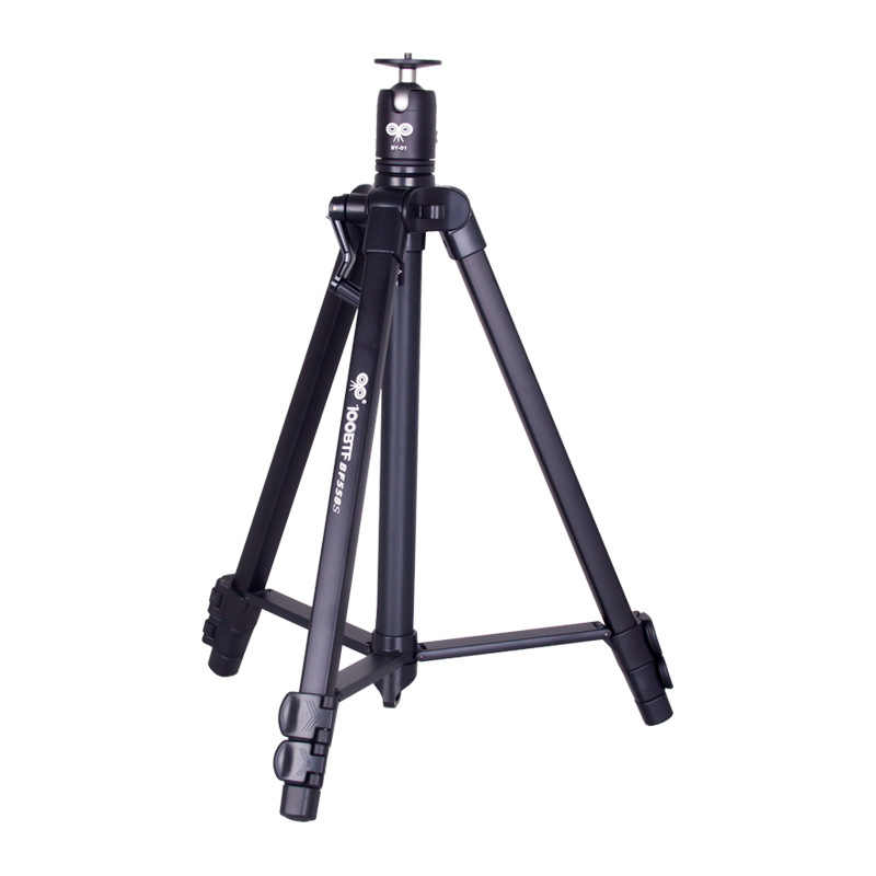 100BTF BF-558S Foldable 46cm 130cm Tripod with Removable Ball Head Max Load 10KG