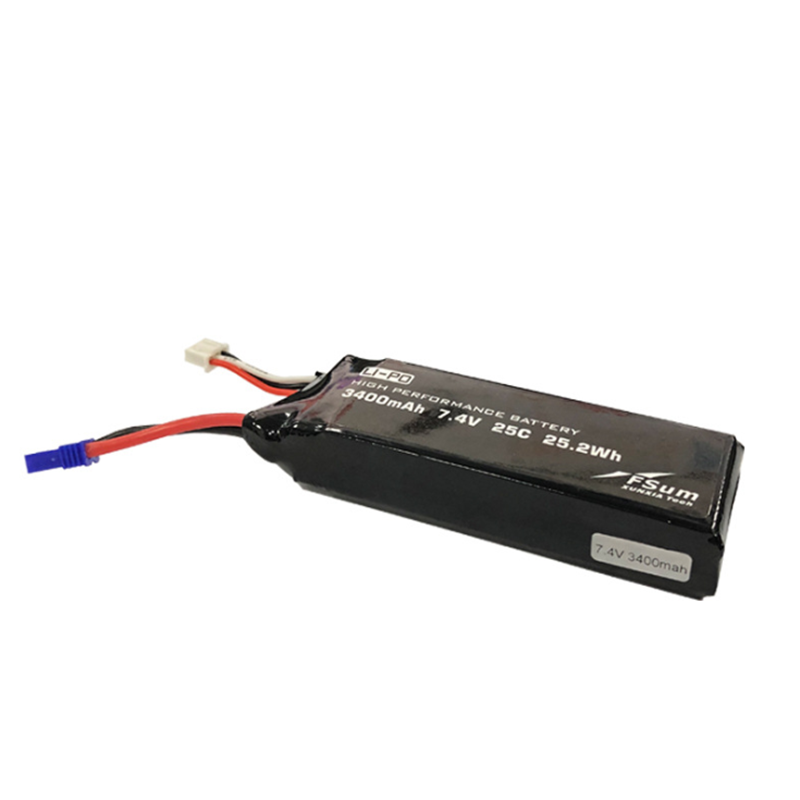 Upgraded 7.4V 3400mAh 25C Lipo Battery for Hubsan 501S 501A 501M RC Drone Quadcopter - Photo: 2