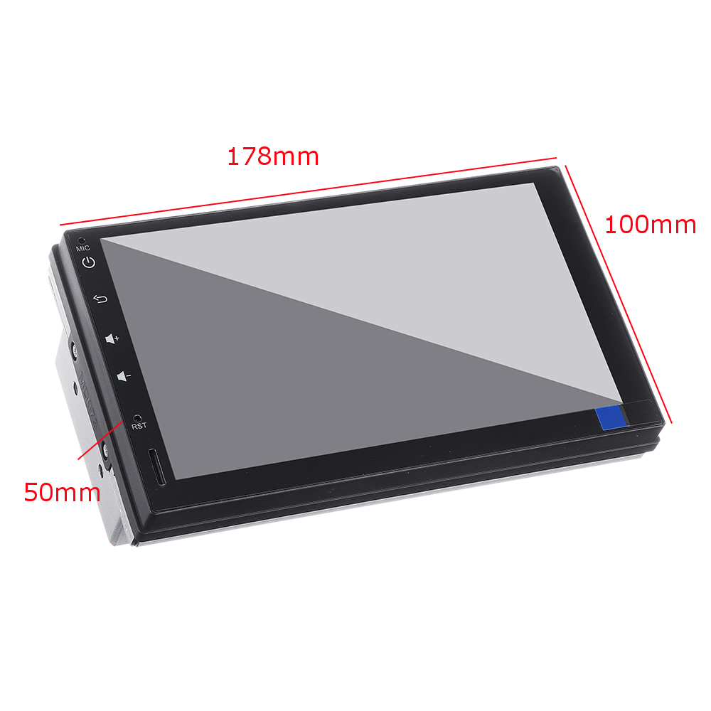 YUEHOO 7 Inch 2 DIN for Android 9.0 Car Stereo Radio 8 Core 4+32G Touch Screen 4G WIFI bluetooth FM AM RDS GPS