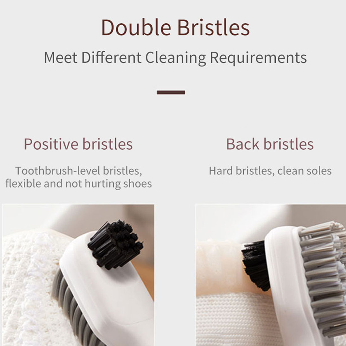 Electric Shoes Hair Brush Multifunctional Sonic Vibration Shoes Clothes Cleaning Brush