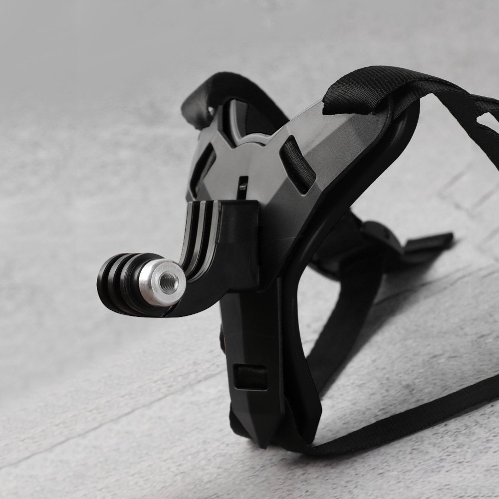 RUIGPRO Helmet Chin Camera Mount Expansion Bracket Accessories for GoPro Hero 8/7/6/5 Xiaomi Yi 4K SJCAM SJ4000 Action Sport Camera - Photo: 2