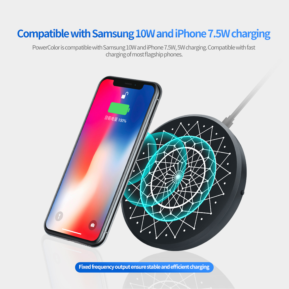 NILLKIN 15W 10W 7.5W Fast Charging Pad Wireless Charger For iPhone X XS Max Note9 S10 S10+ HUAWEI Mate 20Pro P30 XIAOMI MI9