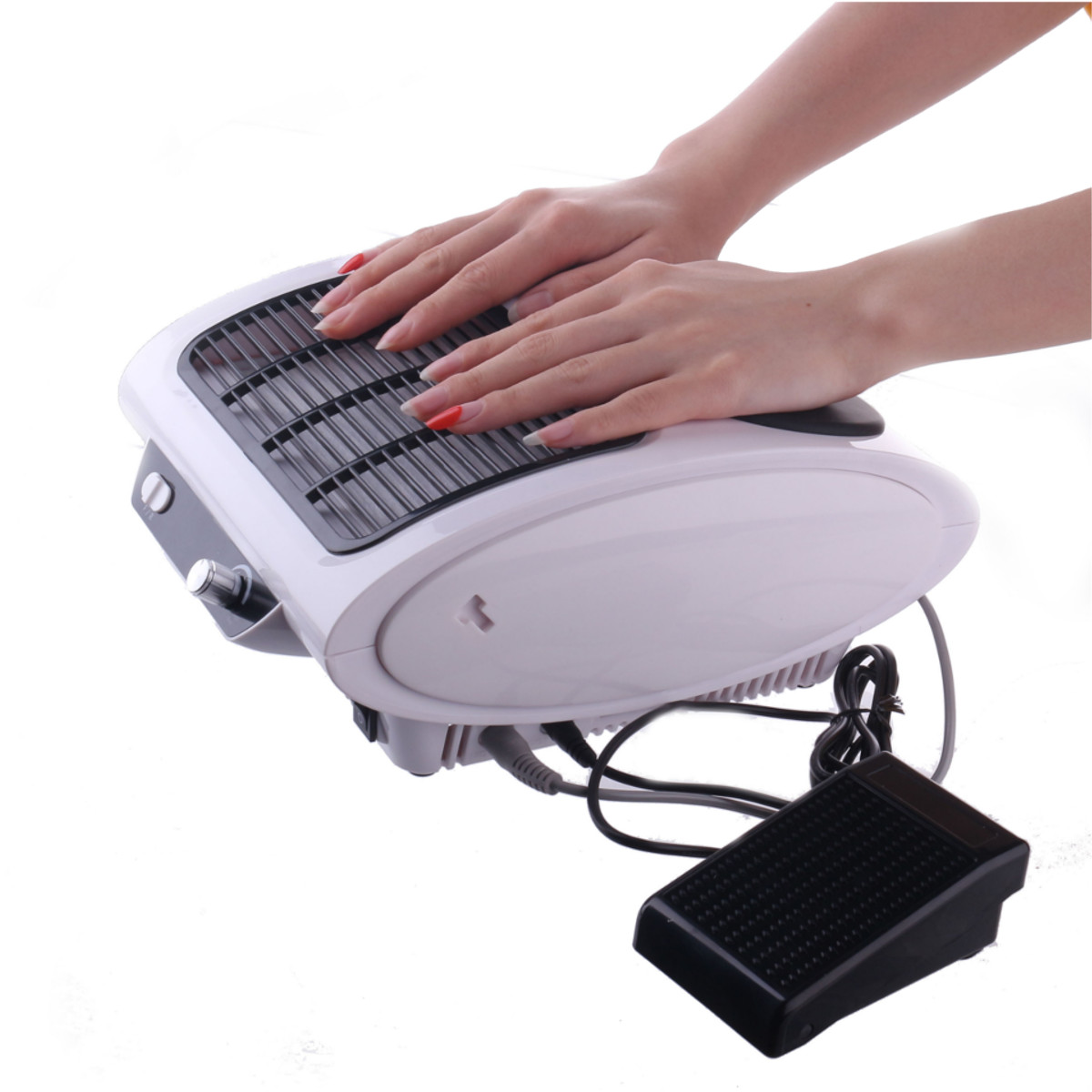 3 In 1 Portable Electric Nail Dust Collector Manicure Drill