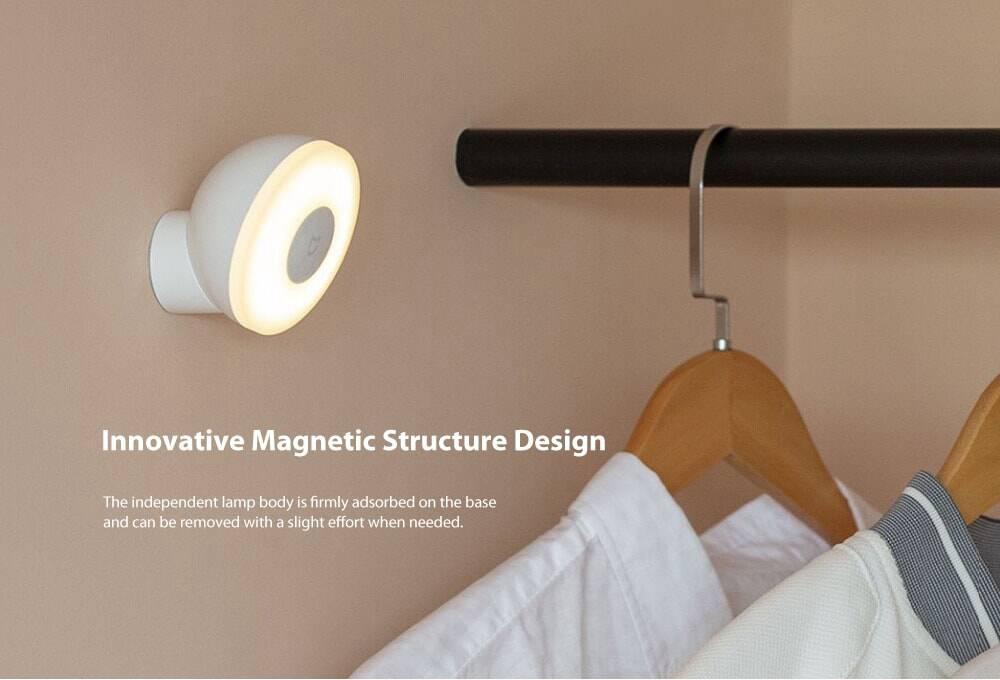 XIAOMI Mijia MJYD02YL Night Light 2 Adjustable Brightness Infrared Smart Human Body Sensor With Magnetic Base