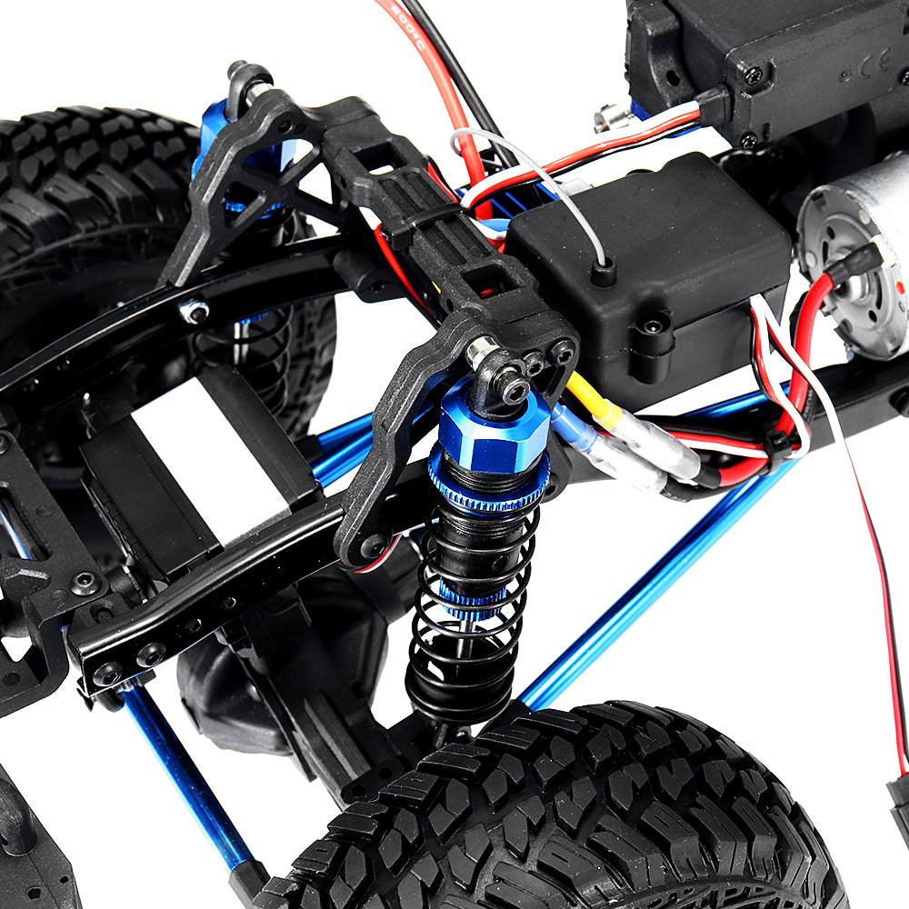 VRX RH1052 1/10 2.4G Brush RC Car Crawler RTR Vehicle Models With Battery Charger Transmitter - Photo: 10