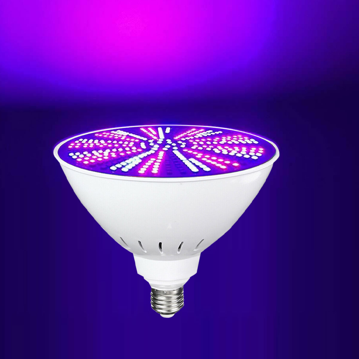 E26 E27 12V 35W RGB PAR56 423LED Swimming Pool Light Colorful Change Light Bulb + Remote Control