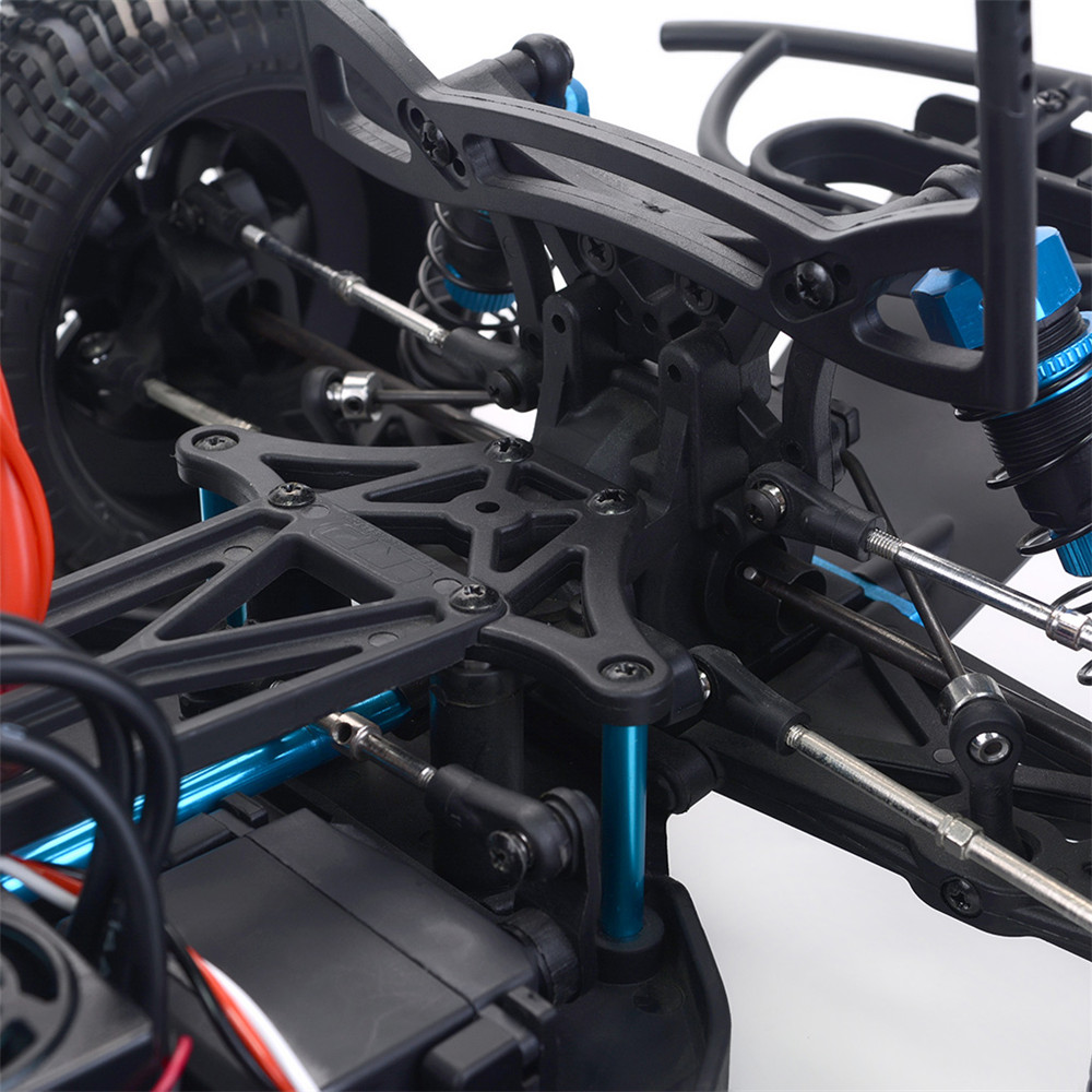 ZD Racing Thunder SC-10 1/10 2.4G 4WD 55km/h RC Car Electric Brushless Short Course Vehicle RTR - Photo: 8