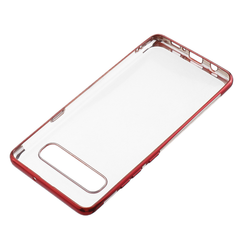 Bakeey Shockproof Plating Bumper Soft TPU Transparent Protective Case for Samsung Galaxy S10 5G