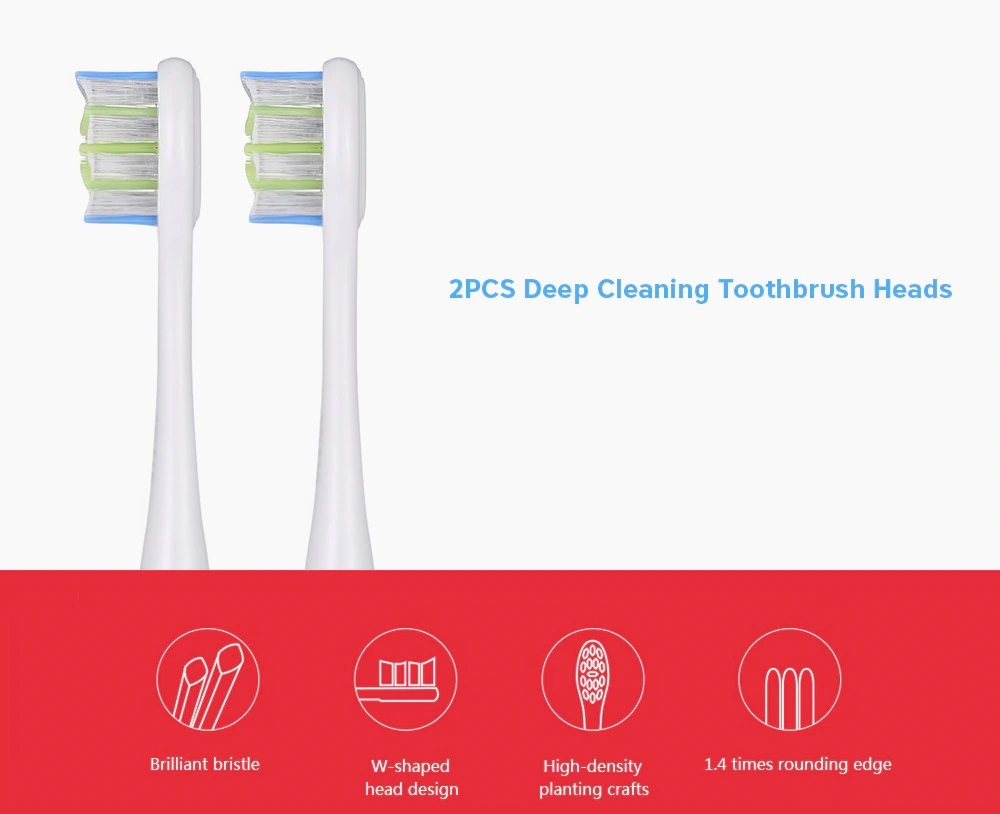 Oclean P3 2pcs Replacement Deep Cleaning Toothbrush Heads