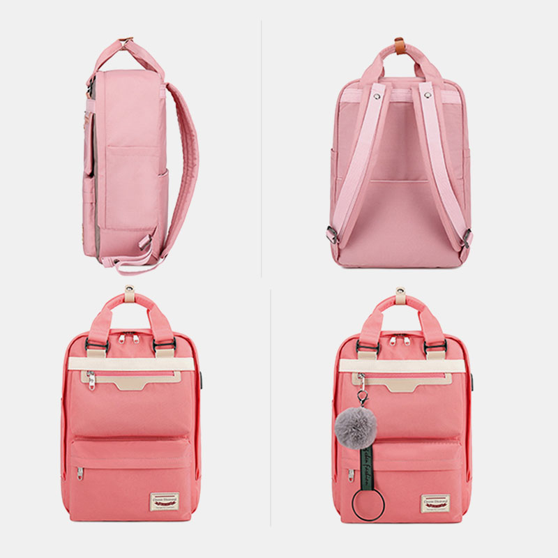 Women Large Capacity Waterproof Fashion Backpack