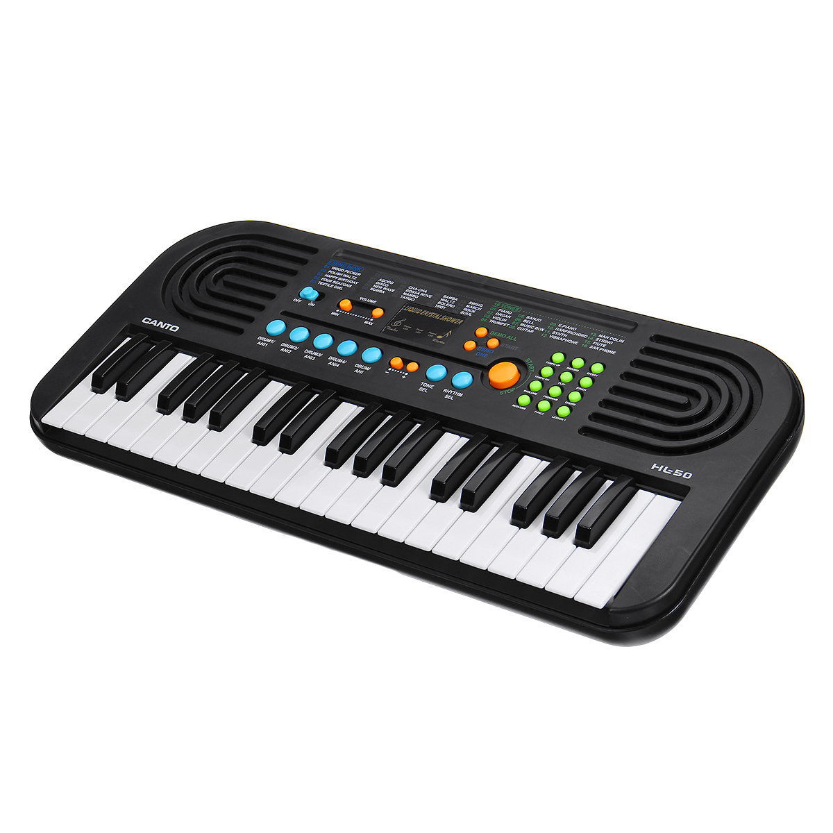 37 Keys Digital Electronic Keyboard Piano with Microphone Musical Instrument Toy for Children Music Enlightenment - Photo: 2