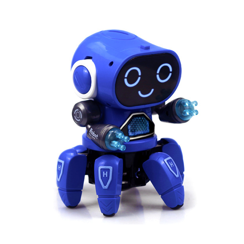 DIY 6-Legged Smart RC Robot Toy Sing Dance Robot Toy With Colorful Light - Photo: 6