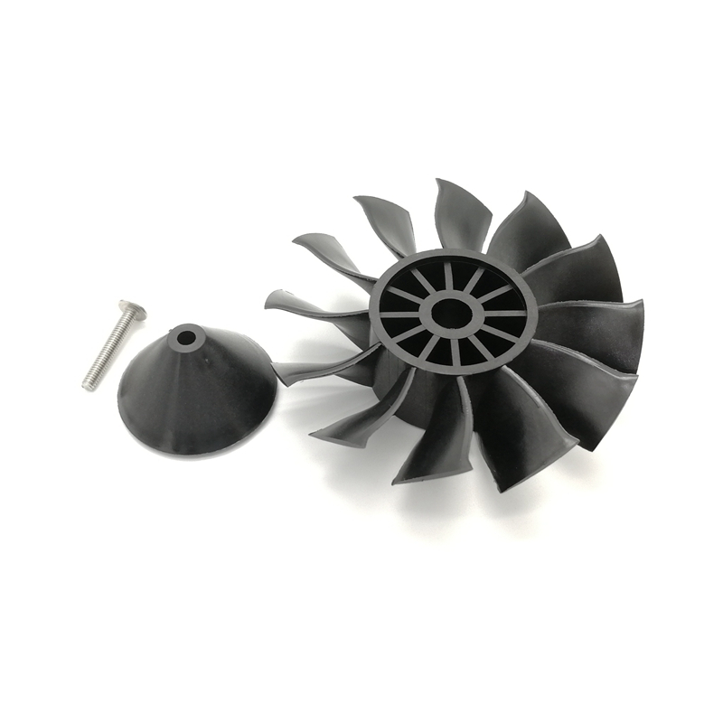 Powerfun EDF 90mm Ducted Fan 8S 1100KV Brushless Motor 12 Blades Propeller for RC Airplane Plane Jet - Photo: 7