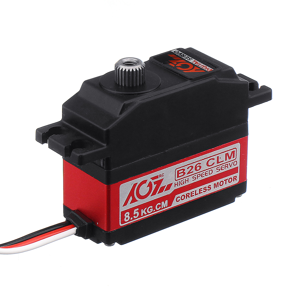 AGF B26CLM 8.5kg Coreless Metal Gear Digital Servo For 450 RC Helicopter RC Car - Photo: 3