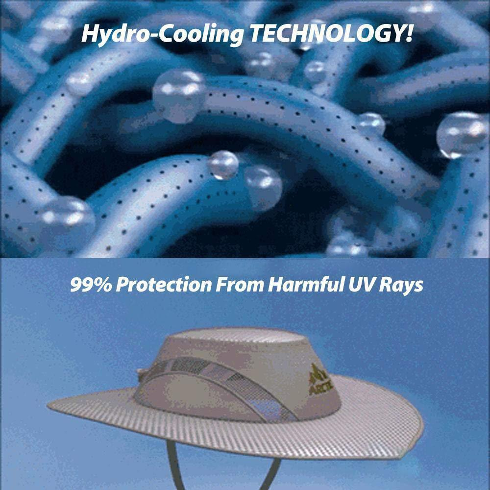 Arctic Hat Outdoor Cooling Ice Cap Sunscreen Hydro Cooling Bucket Arctic Ultra Chilling UV Protection Hat UV Protection Hat