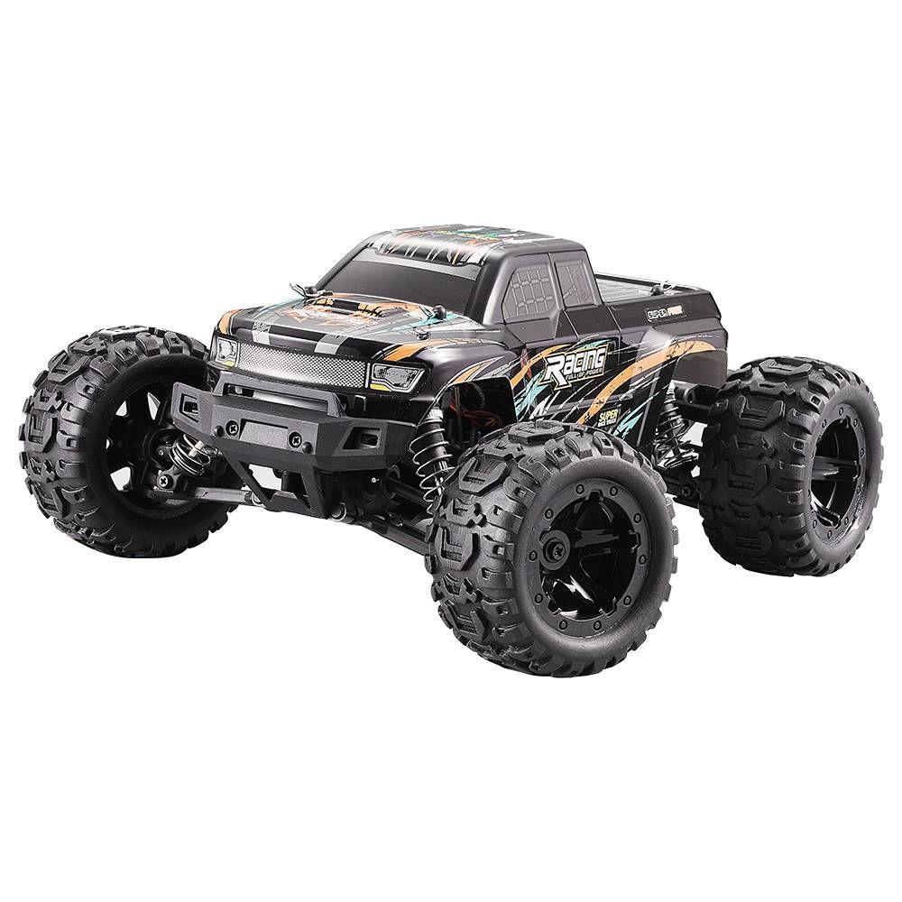 HBX 16889 1/16 2.4G 4WD 30km/h Brushless RC Car with LED Light Electric Off-Road Truck RTR Model - Photo: 3
