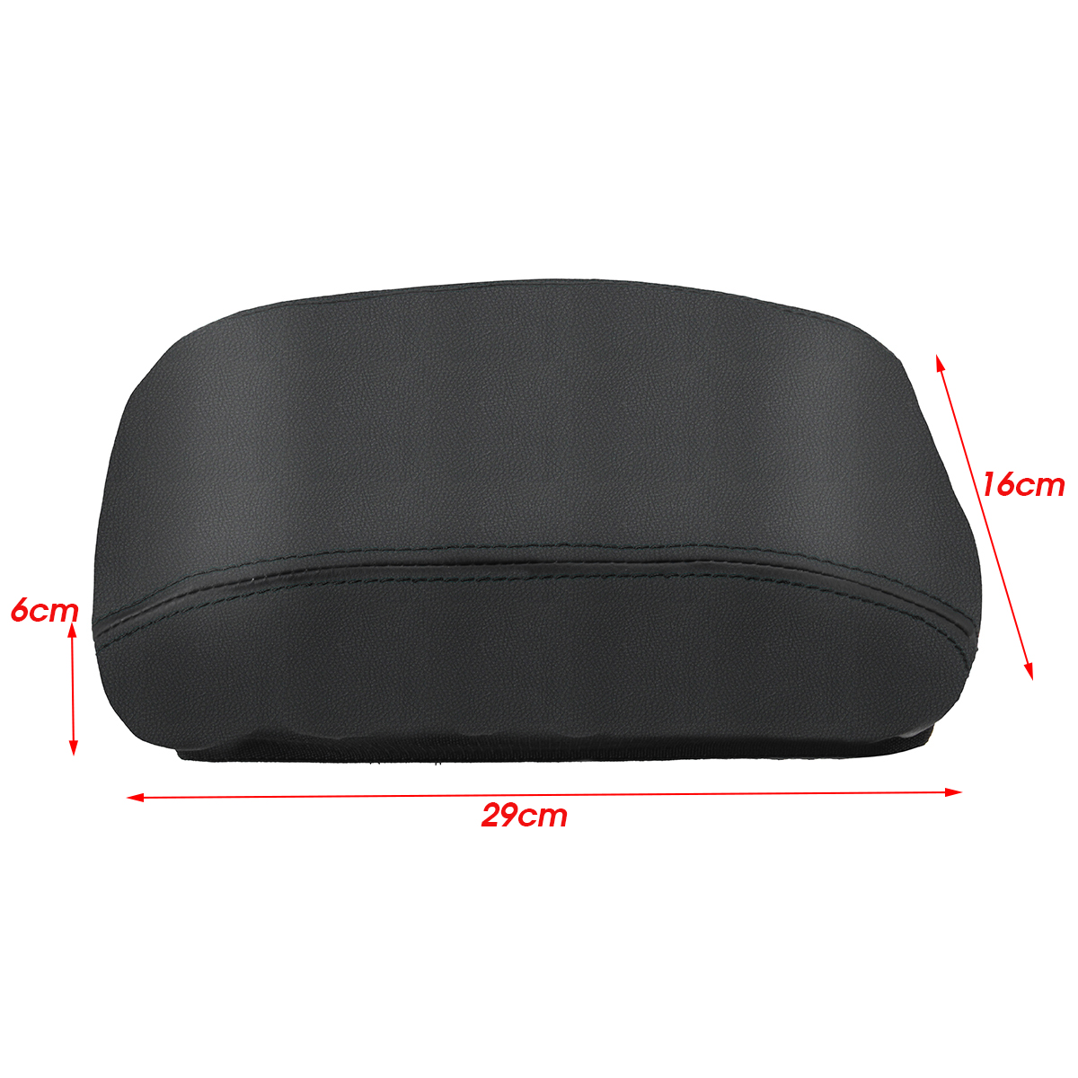 PU Leather Car Center Armrest Console Box Cover Protection For Honda Civic 2006-2011