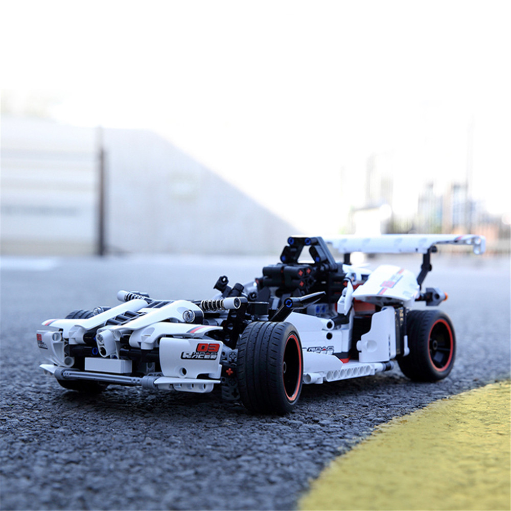 XIAOMI MIJIA GLSC01 DIY Assembled APP Control RC Car Building Blocks On-Road Vehicles Toys