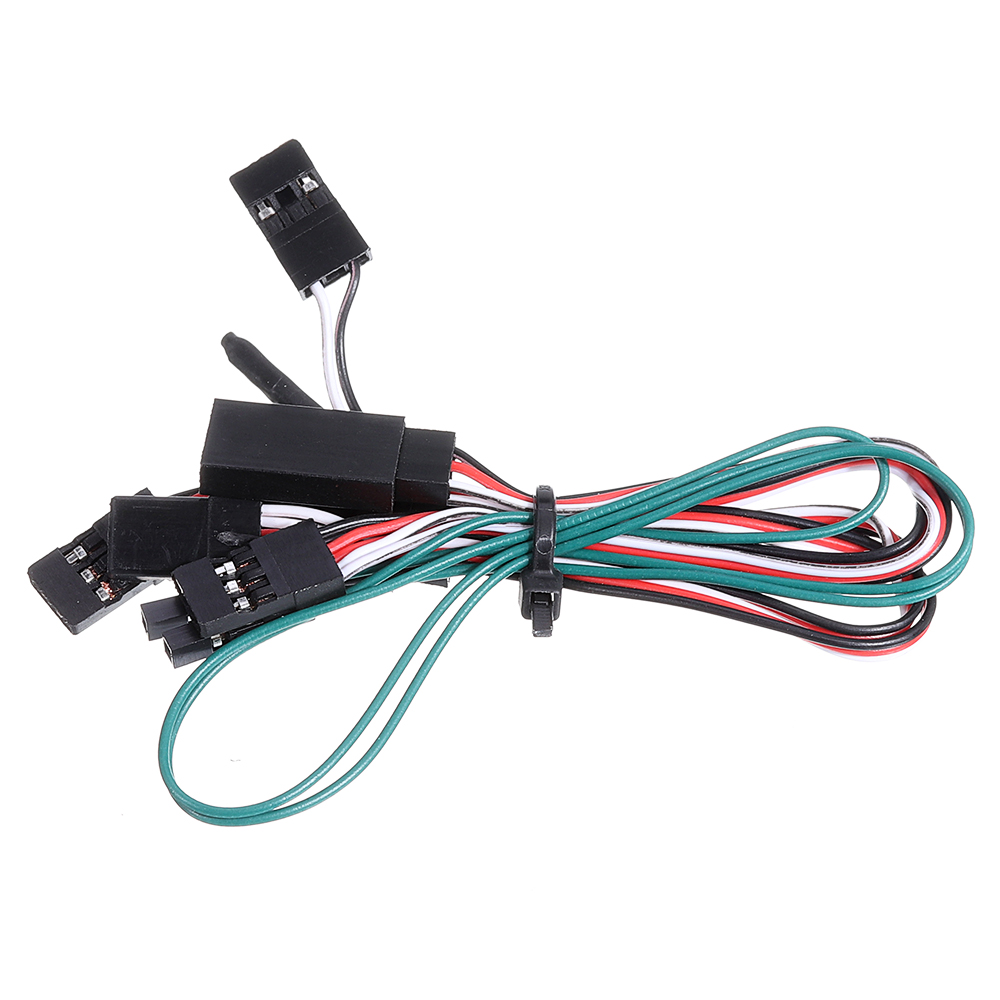 HG P408 1/10 Controllable IC Mainboard with LED Light Set RC Car Spare Parts HG-RX1018 - Photo: 5
