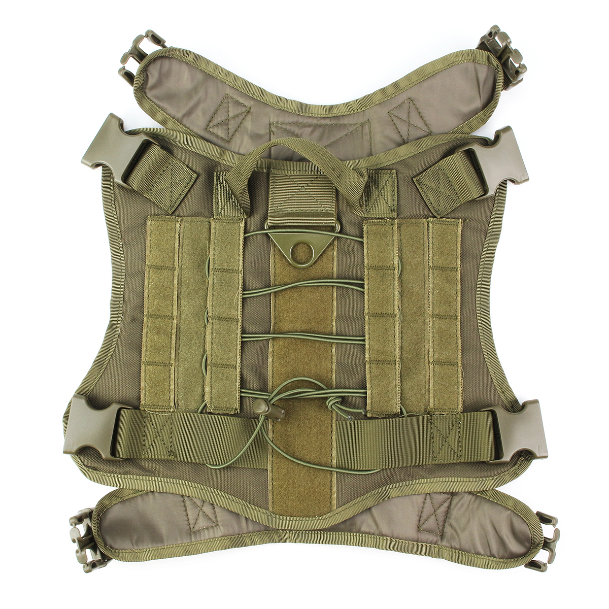 L Size 1000D Pet Trainer Nylon Outdoor Military Tactical Dog Training Molle Compact Vest Harness MOLLE System Clothes