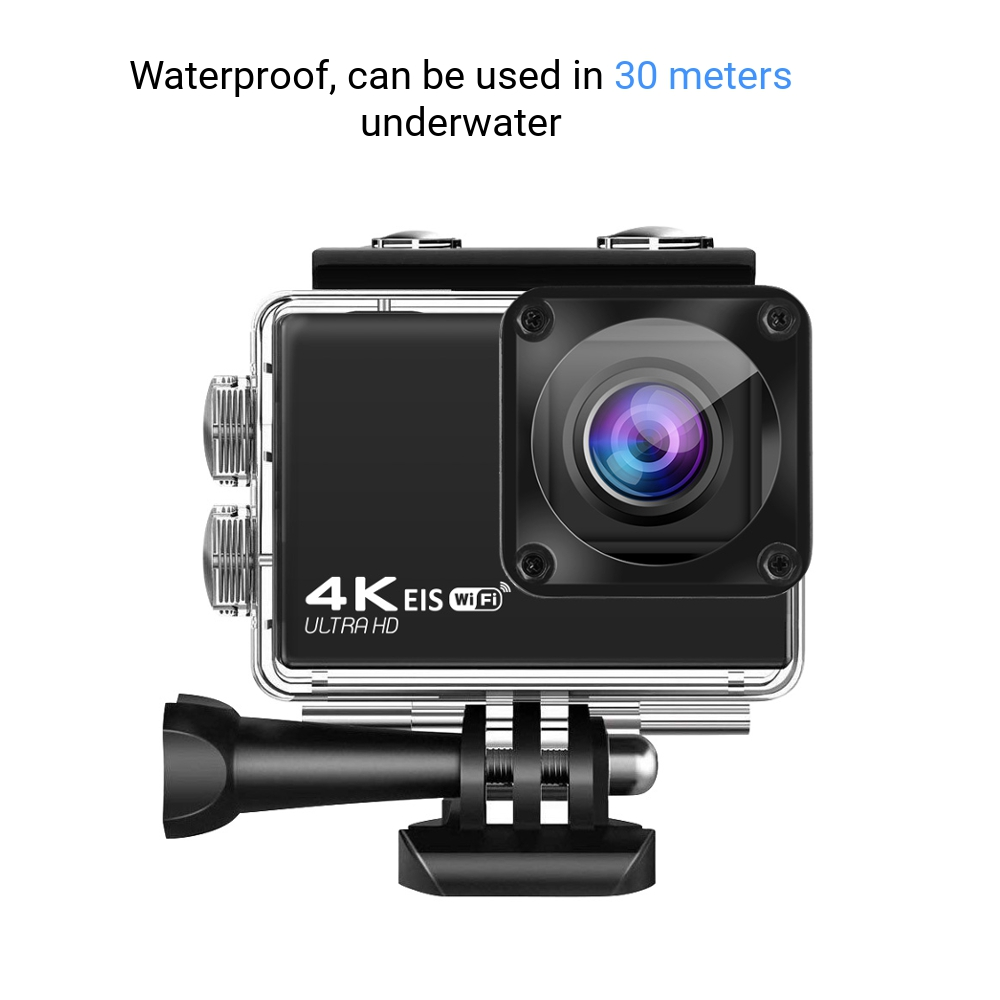 AUSEK AT-Q37C V316 4K 60fps 30fps Mini Waterproof HD Camera Action CAM Support WiFi DVR Time-Lapse Loop for Outdoor FPV RC Drone Travel Photography - Photo: 5