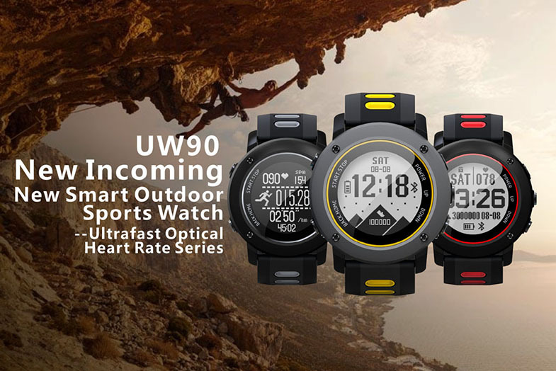 Bakeey UW90 GPS Positioning Fitness Tracker Smart Watch Compass Waterproof Outdoor Sport Watch
