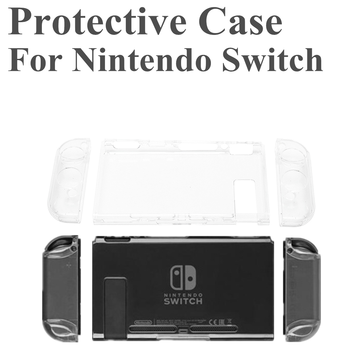 Protective Case Hard Cover Protector for Nintendo Switch Game Console