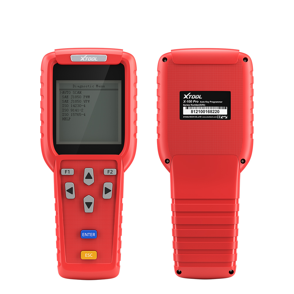 XTOOL X100 Pro OBD2 Auto Key Programmer/Car Mileage Adjustment Including EEPROM Code Reader with Free Update