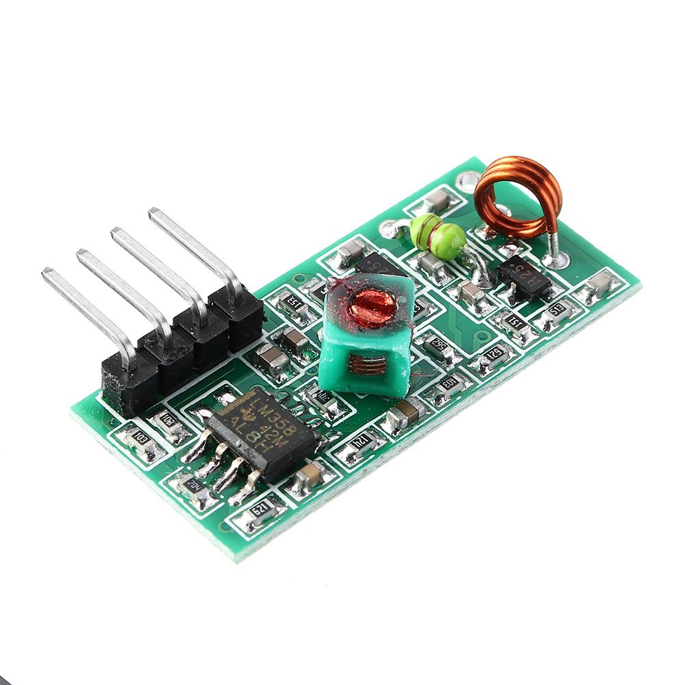 315MHz / 433MHz RF Wireless Receiver Module Board 5V DC for Smart Home Arduino Raspberry Pi /ARM/MCU WL DIY Kit