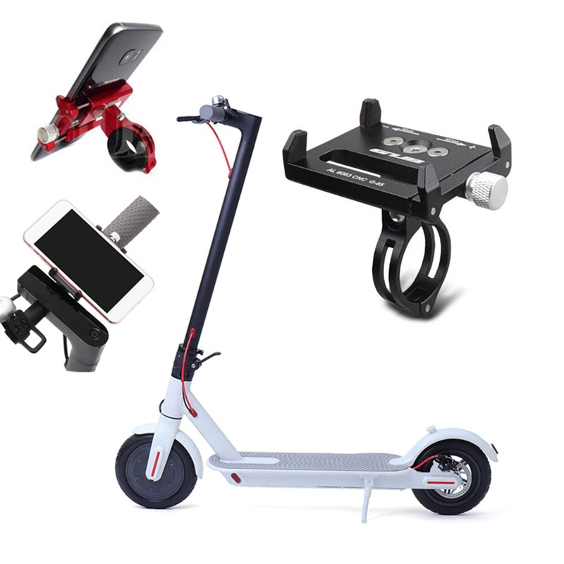 G-85 Adjustable Mobile Phone GPS Holder For Xiaomi M365/M187/PRO NINEBOT ES1/2/3/4 Electric Scooter Bicycle Motorcycle Mount Blanket