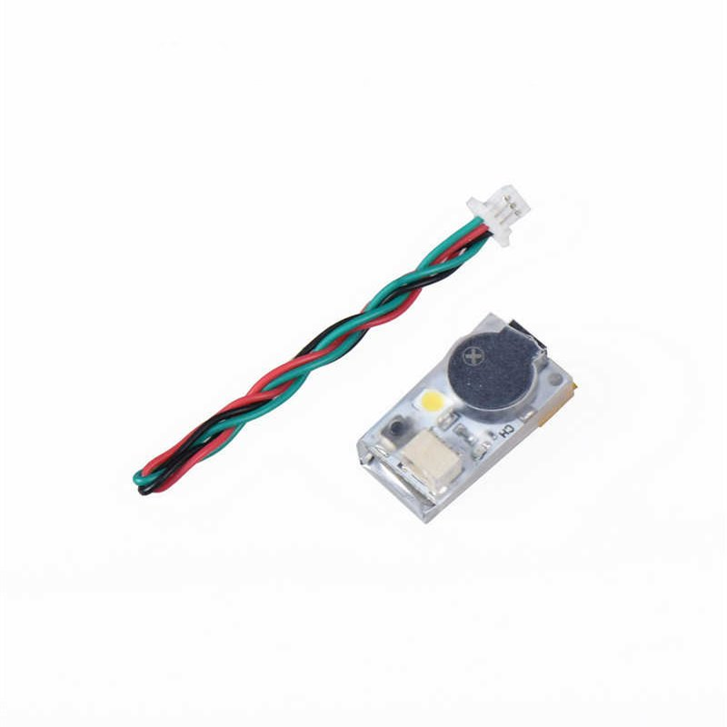 FPV JHEMCU JHE20B Finder BB Ring 100dB Buzzer Alarm with LED Light Support BF CF Flight Control Parts for RC Micro Drone Quad - Photo: 2