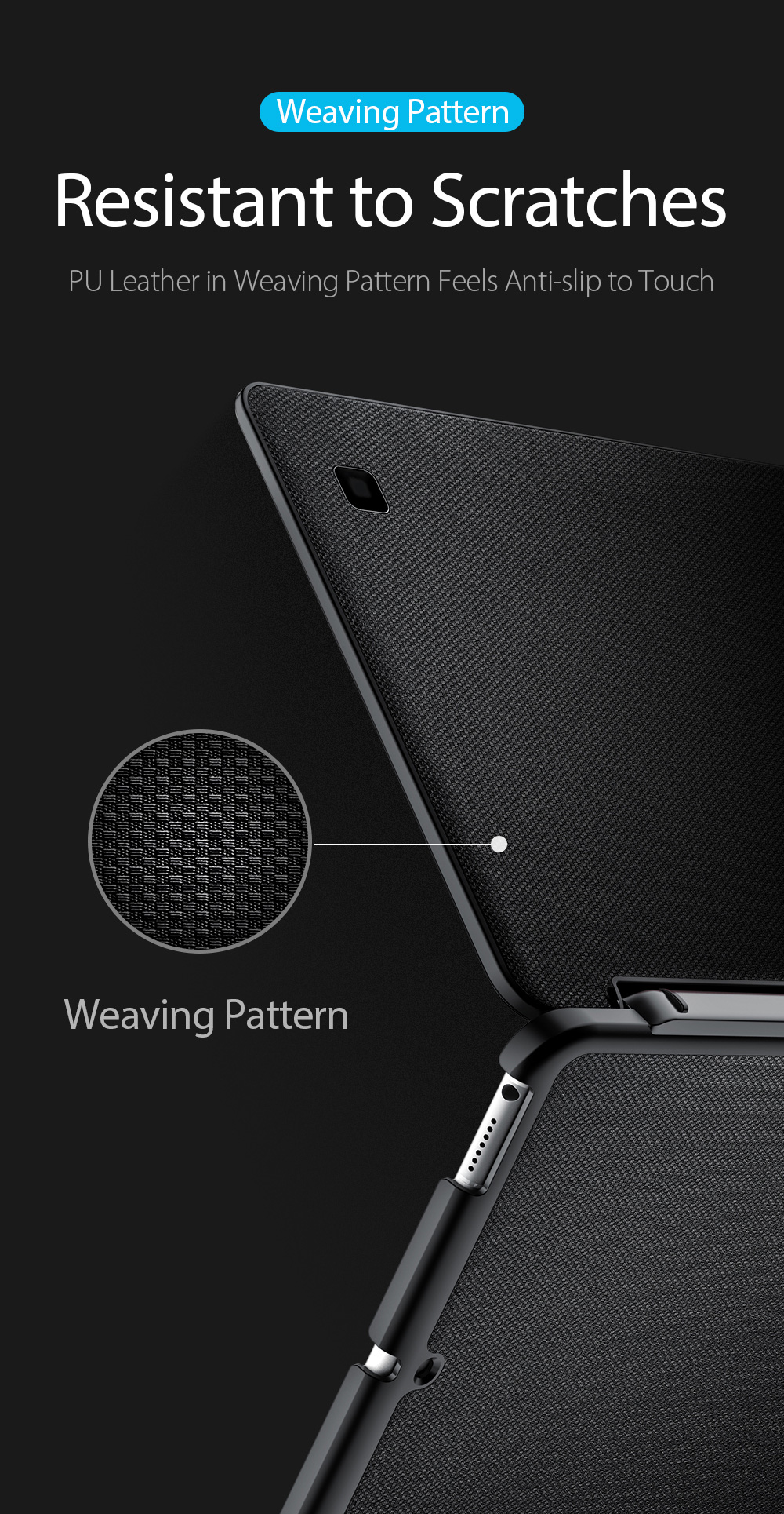 DUX DUCIS Smart Awake Sleep Magnetic Wireless bluetooth Tablet keyboard Case Business Flip PU Leather Full Protection Case for iPad 5 9.7 Inch 2017 / for iPad 6 9.7 Inch 2018/ for iPad Air 9.7 inch