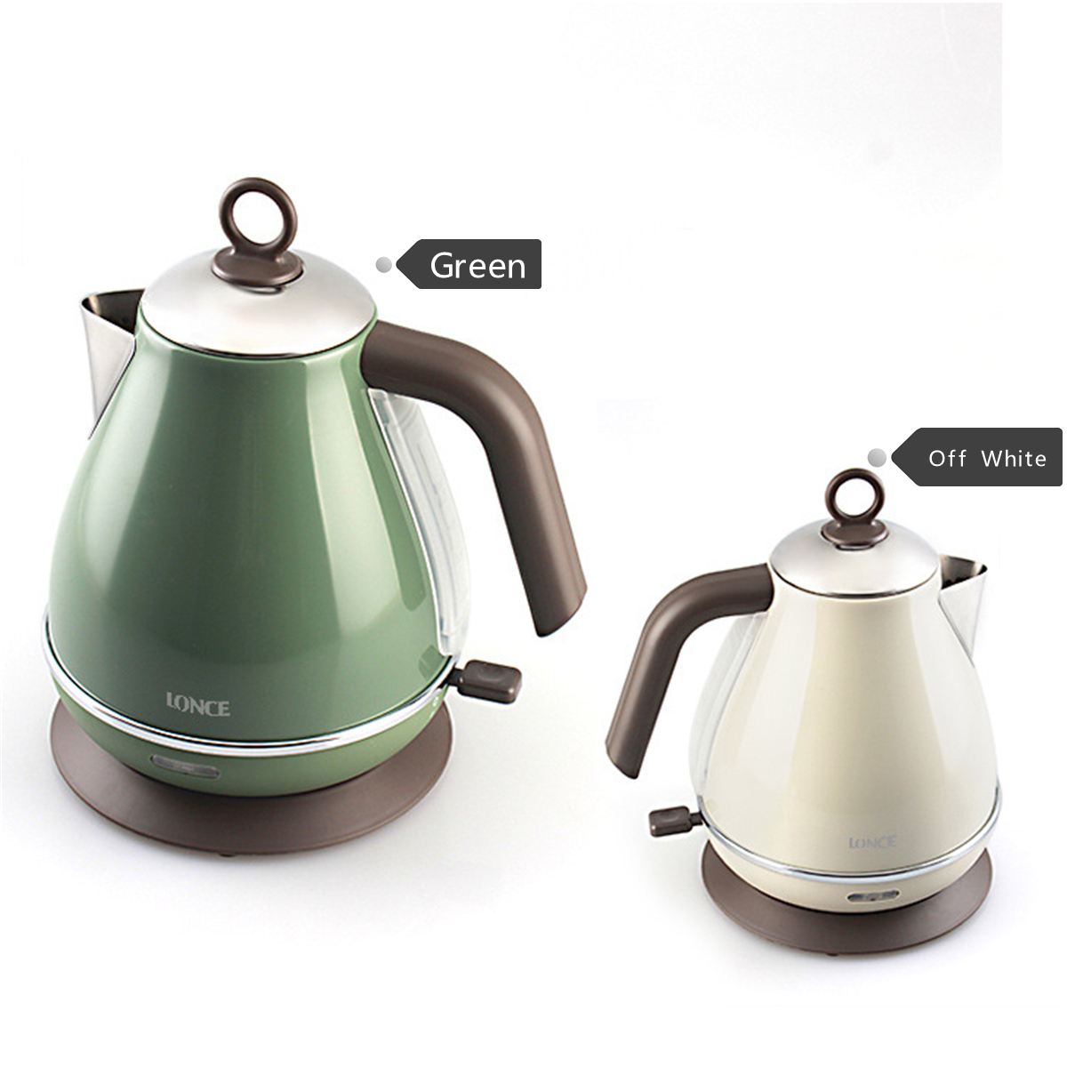 1.7L 1850W Electric Kettle Auto Shut Off Water Kettle Water Boiler 304 Stainless Water Kettle