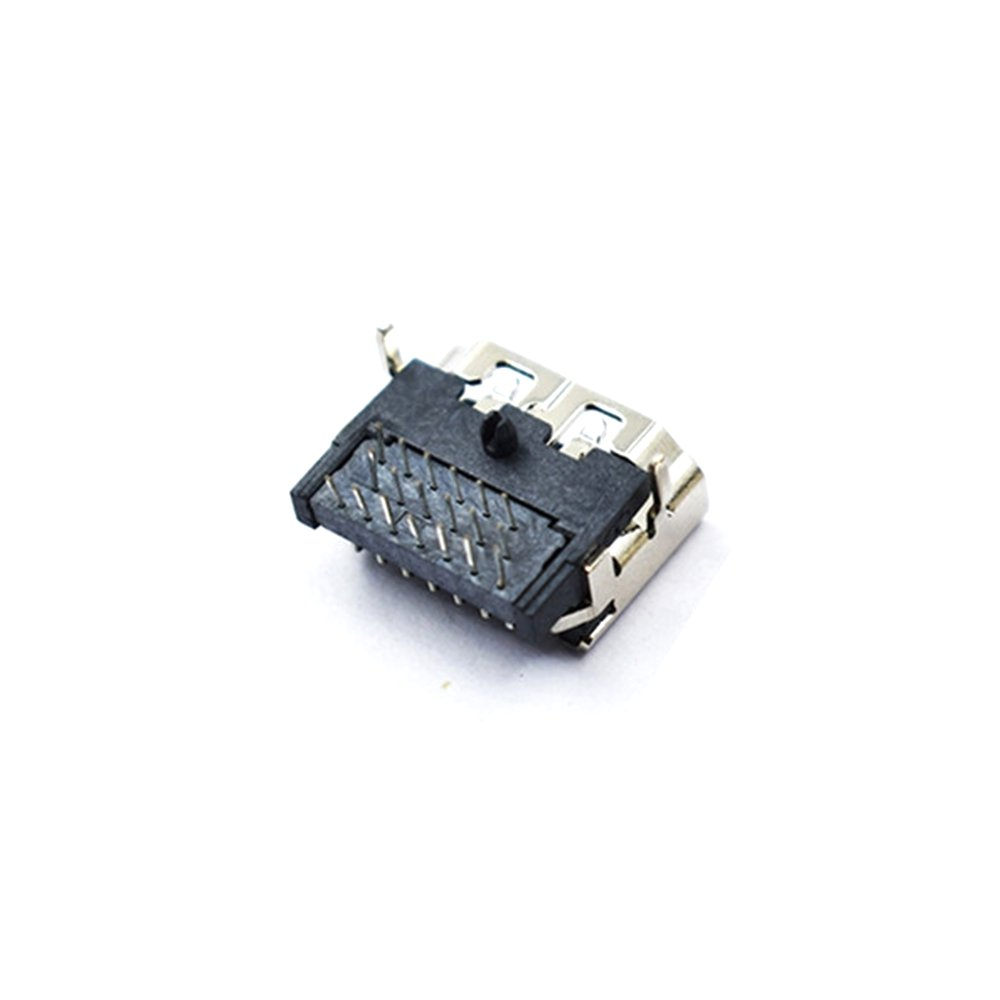 2PCS HD Port 19P Socket Female DIP 3-Row Pin Right Angle HD Connector For RC Models - Photo: 3