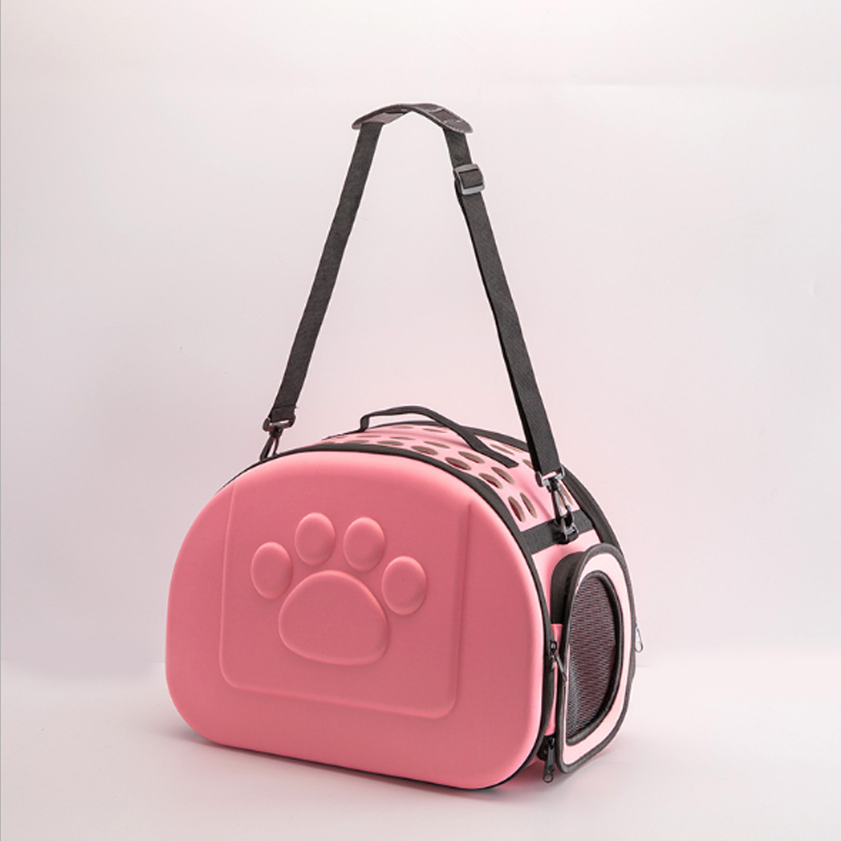 Portable Pet Dog Cat Puppy Handbag Portable Travel Carry Carrier Tote Cage Bag Crate Box Holder
