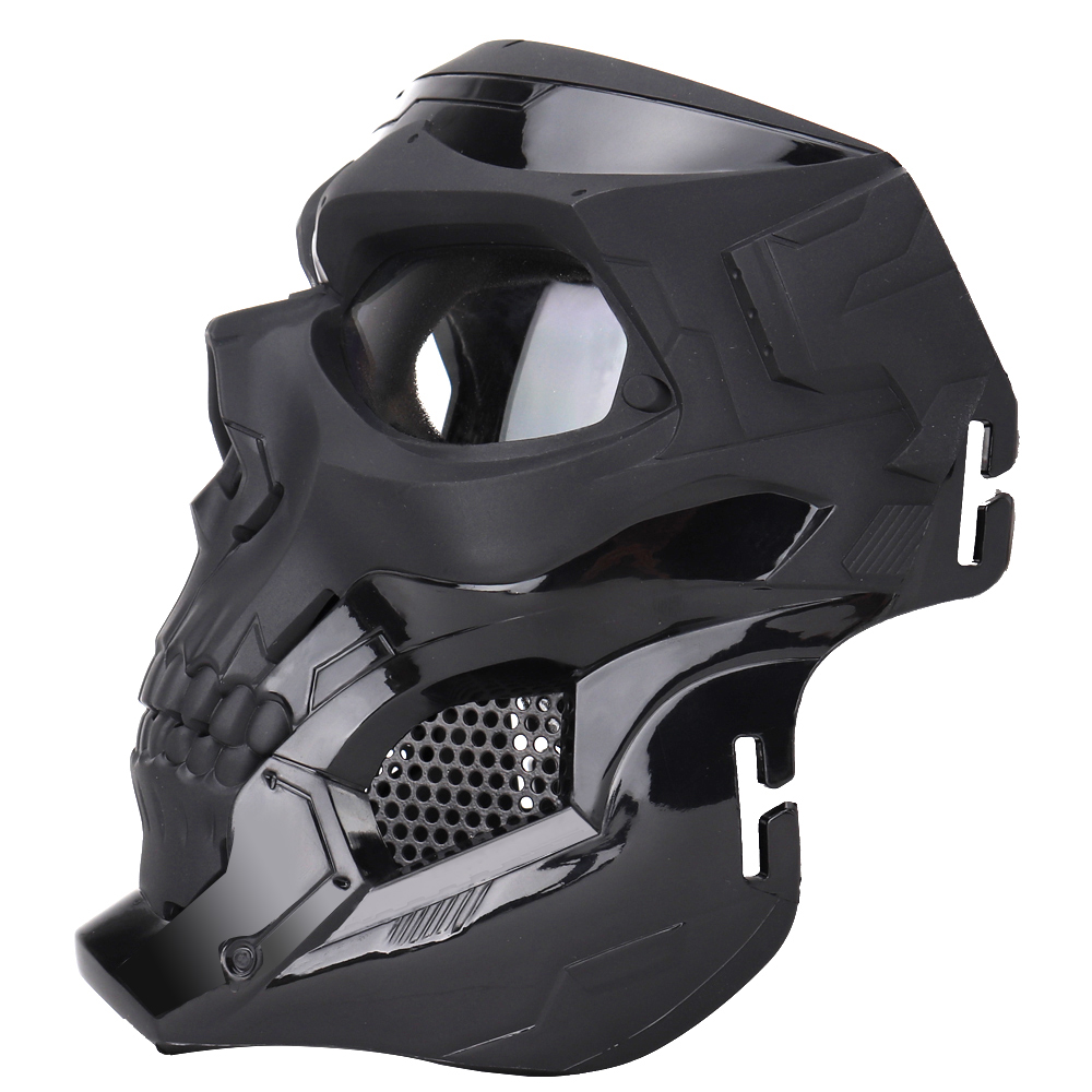 Wosport Skull Tactical Airsoft Mask Paintball CS Military Protective Full Face For Fast Helmet