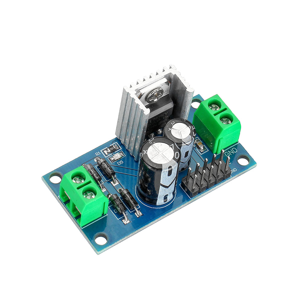 20pcs LM7809 DC/AC 12-24V to 9V DC Output Three Terminal Voltage Regulator Power Supply Step Down Module 1.2A
