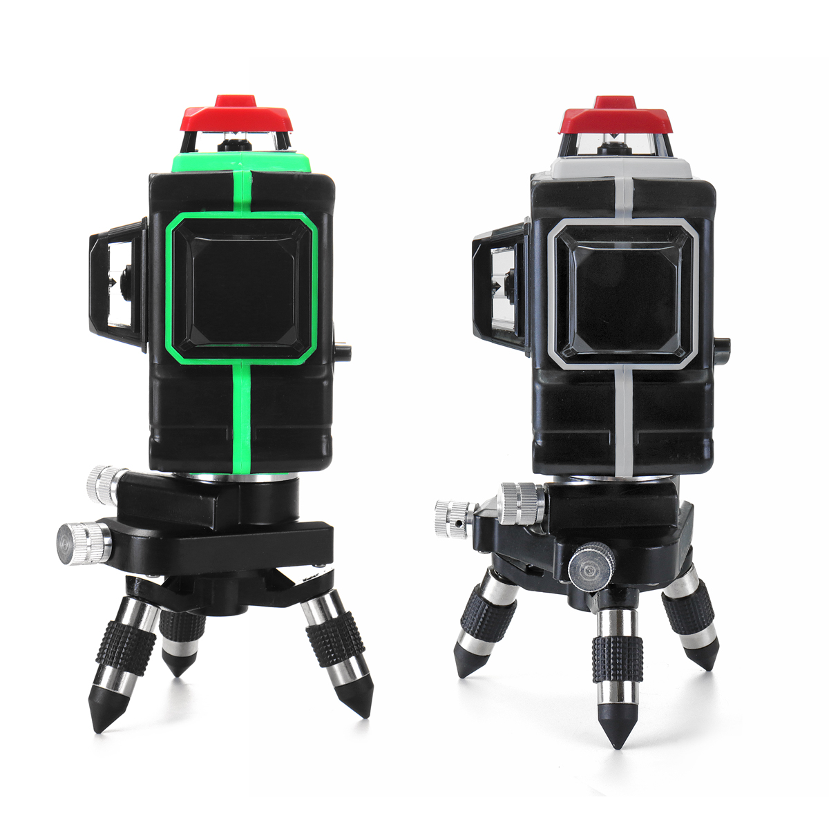 12 Line Green/Blue Laser Level with 1/2 Battery 638nm/808nm 3D 360 Degree Rotation Auto Leveling Horizontal Vertical Laser Beam
