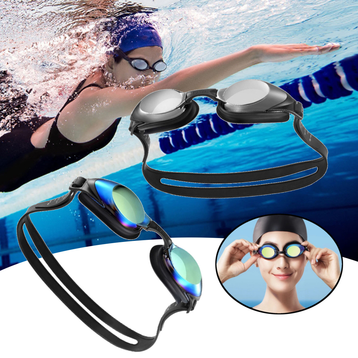 $12.69 for Xiaomi Yunmai HD Swimming Gog