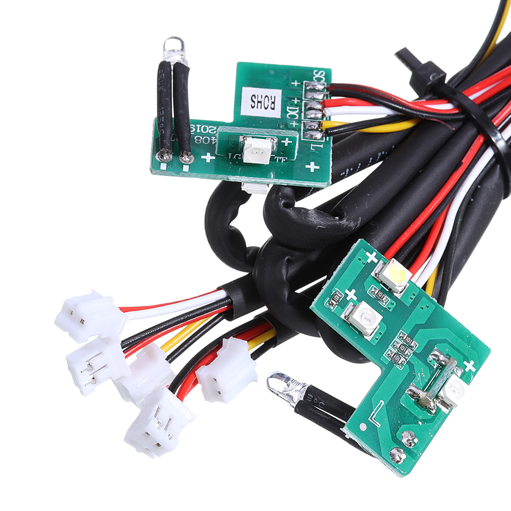 HG P408 1/10 Controllable IC Mainboard with LED Light Set RC Car Spare Parts HG-RX1018 - Photo: 3