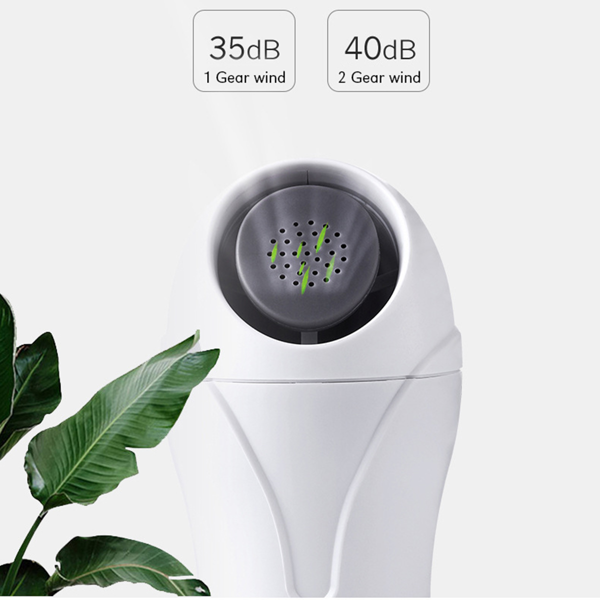 USB Mini Portable No Leaf Hand Held Air Aromatherapy Cooler