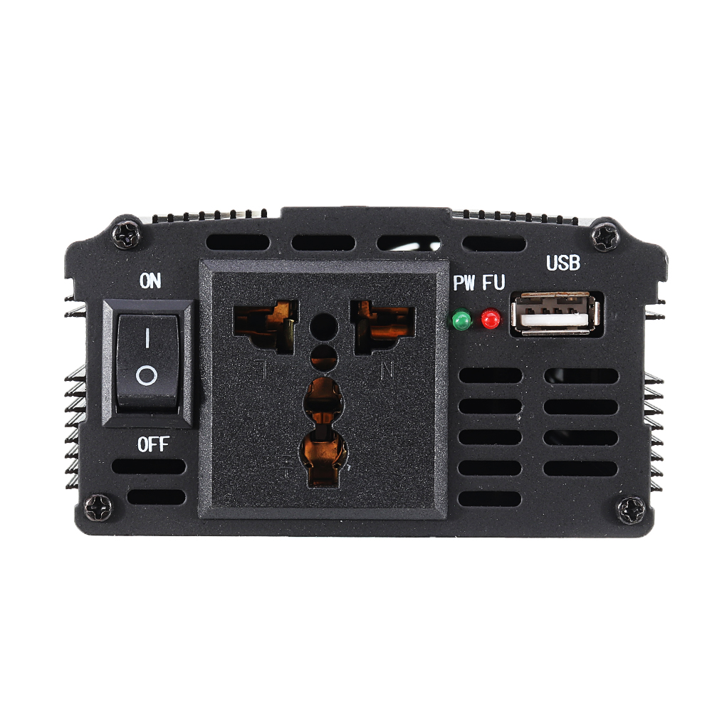 XUYUAN 5000W Car Power Inverter DC 12/24V to AC 110/220V Modified Sine Wave Converter with USB Charging Port