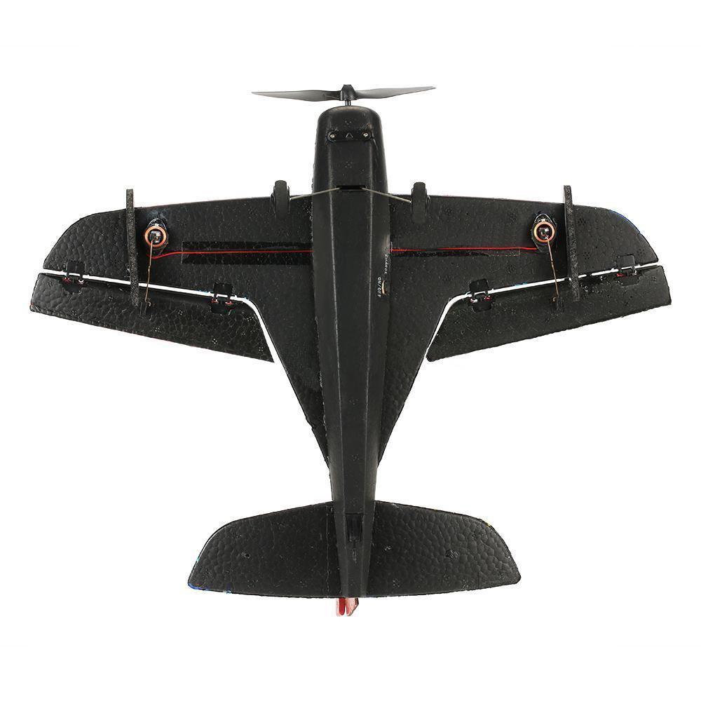 Techboy Mini Bull 2.4G 3CH 345mm Wingspan EPP 360 Degree Rotation RC Airplane RTF