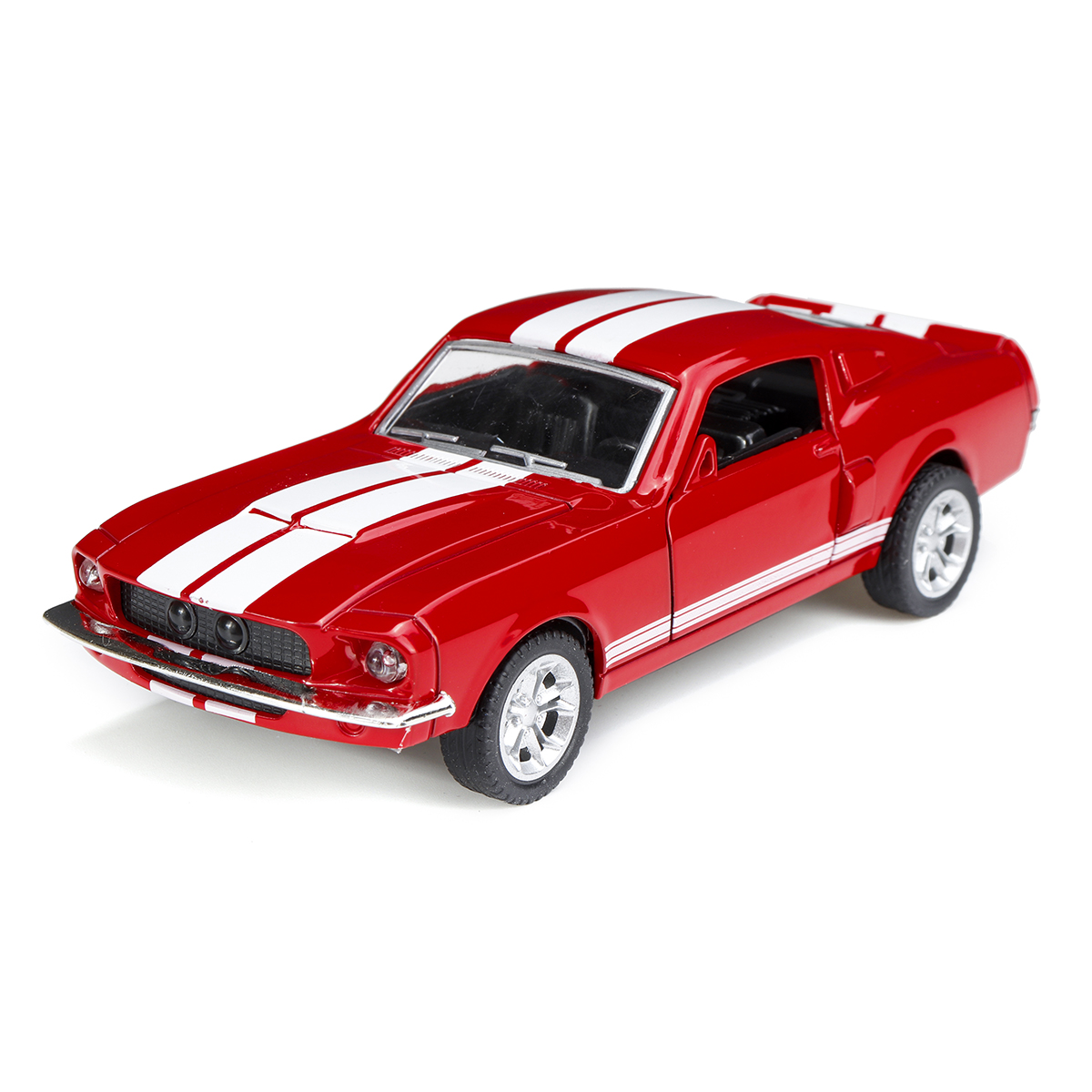 1:32 Alloy Fords Mustang GT 1967 GT500 Return Diecast Car Model Toy for Children Gift - Photo: 5
