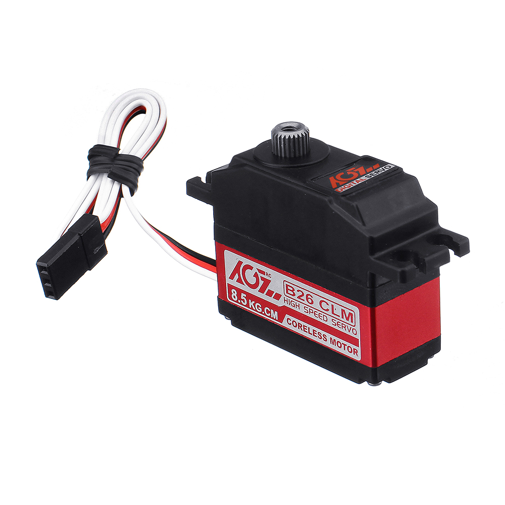 AGF B26CLM 8.5kg Coreless Metal Gear Digital Servo For 450 RC Helicopter RC Car - Photo: 8