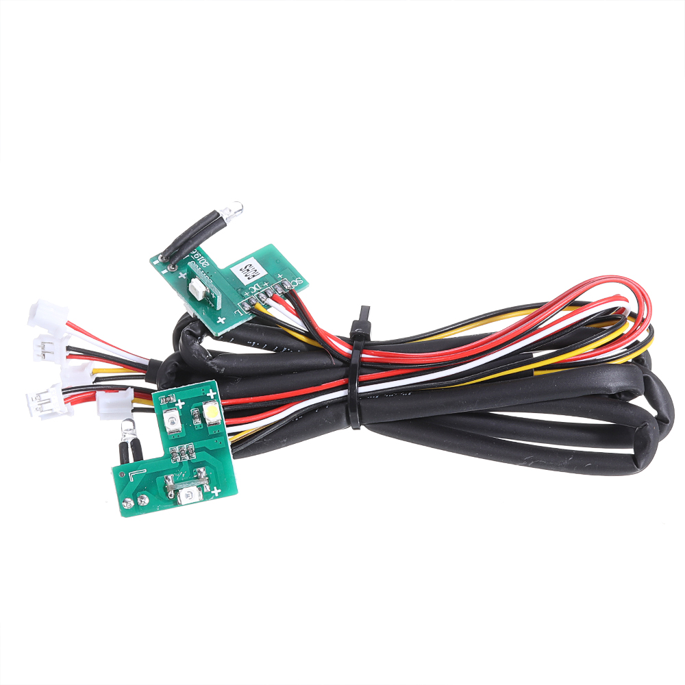HG P408 1/10 Controllable IC Mainboard with LED Light Set RC Car Spare Parts HG-RX1018 - Photo: 4