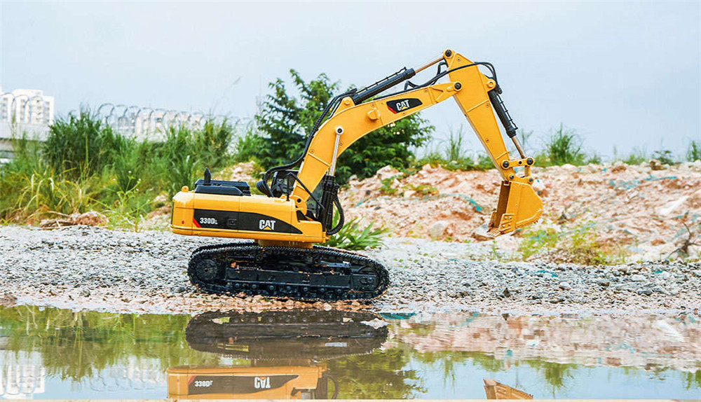 330DL from Xiaomi Youpin for CAT 1/20 2.4G RC Excavator Alloy Construction Truck Vehicles RTR Model - Photo: 5